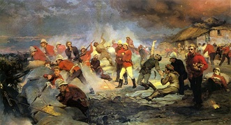 """The Defence of Rorke's Drift"""