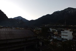 Morning at Uttarkashi Town