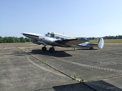 Hamilton Westwind III conversion at an airfield in Tennessee