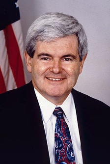Newt Gingrich, House Speaker (1995–1999), was the most visible adversary for President Bill Clinton