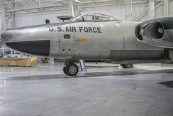 The North American B-45C Tornado AF Ser. No. 48-0017 at the Strategic Air and Space Museum in Ashland, Nebraska