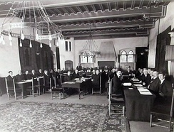 North Atlantic Fisheries Arbitration at the Permanent Court of Arbitration, Prinsegracht 71, The Hague, 1910.