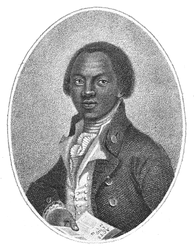 Olaudah Equiano, His autobiography, published in 1789, helped in the creation of the Slave Trade Act 1807 which ended the African slave trade for Britain and its colonies.