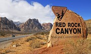 Red Rock welcome sign