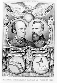 Seymour/Blair campaign poster