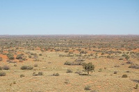 Simpson desert in Northern Territory.