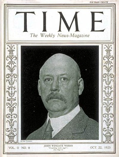 Time cover, October 22, 1923