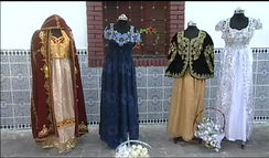 Some of Algeria's traditional clothes