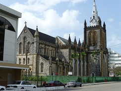 Holy Trinity Cathedral, an Anglican Christian cathedral in Trinidad and Tobago