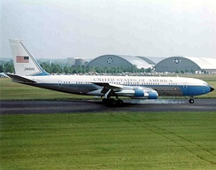 Boeing 707 SAM 26000 served Presidents Kennedy to Clinton, and was the primary transport from Kennedy to Nixon.