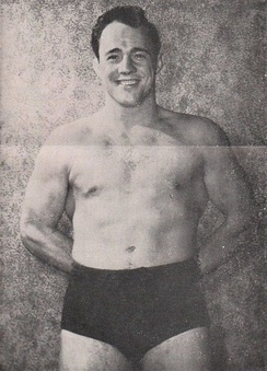 Gagne in the early 1950s