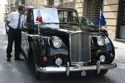 State car of the President of Malta