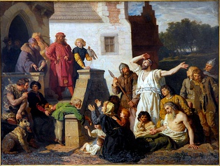 Casimir the Great and the Jews, by Wojciech Gerson, 1874