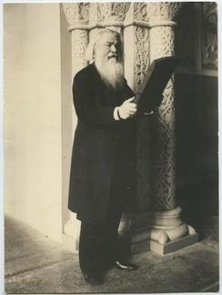 Учёный Забелин Иван Егорович, один из основателей Исторического музея, 1900