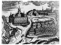 Ragnit Castle and settlement, 1684