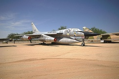 B-58A, AF Ser. No. 61-2080, at the Pima Air & Space Museum in Tucson, Arizona