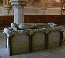 Duke Frederick II of Austria's tomb
