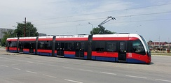 Trams in Belgrade