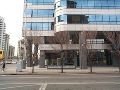 The head offices for the Calgary Catholic School District is located in downtown Calgary. It is one of four publicly-funded school boards operating in Calgary.