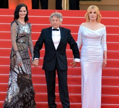 Polanski promoting Based on a True Story at the 2017 Cannes Film Festival