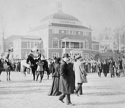 President Cleveland at the opening of the Cotton States and International Exposition
