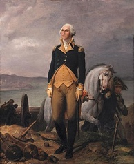 Portrait of George Washington by Léon Cogniet