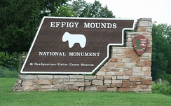 An entrance to Effigy Mounds National Monument