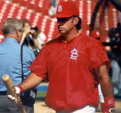 Gaetti with St. Louis