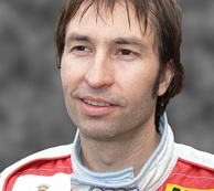 Villeneuve's teammate, Heinz-Harald Frentzen (pictured in 2006), was runner-up following Michael Schumacher's disqualification from the standings at the end of the year.