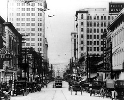Downtown Jacksonville in 1914