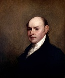 The sixth President of the United States, John Quincy Adams, 1818