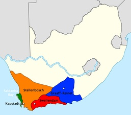 Administrative divisions of the Dutch Cape Colony