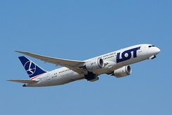 LOT Polish Airlines is Poland's flag carrier, originally established in 1928.