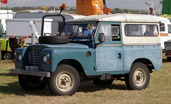 Short-wheelbase Land Rover series III