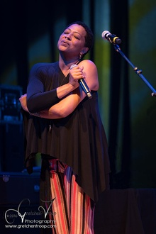 Lisa Fischer performing at Boulder Theater, August 7, 2016