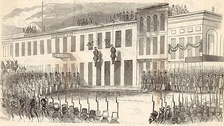The 1856 lynching of Charles Cora and James Casey by the Committee of Vigilance in San Francisco, California