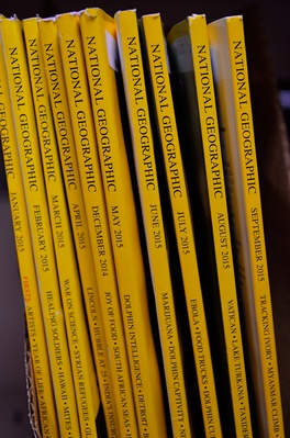 National Geographic English editions collection