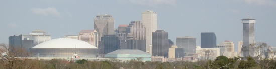 Skyline of the Central Business District of New Orleans