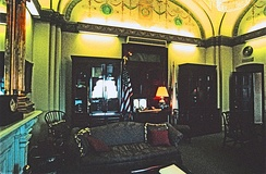 The speaker's office in the US Capitol, during the term of Dennis Hastert (1999–2007)