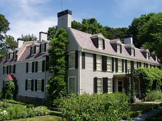 Peacefield, begun in 1731, became the home of John and Abigail Adams and John Quincy and Louisa Catherine Adams