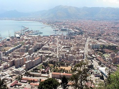 The city of Palermo in 2005