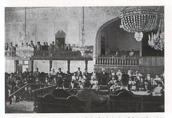 The first national Iranian Parliament was established in 1906.