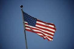 American flag as a national symbol
