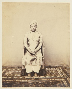 Rama Varma XIV,  The Rajah of Cochin in 1868
