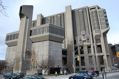 The Robarts Library at the University of Toronto, Canada