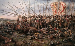 The Battle of Rocroi, by Augusto Ferrer-Dalmau