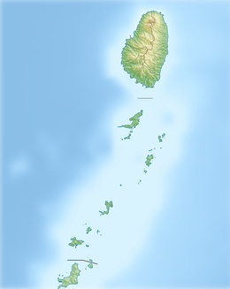 Grenadine Islands is located in Saint Vincent and the Grenadines