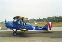 DH.82A Tiger Moth in Royal Norwegian Air Force markings