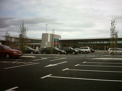 Wetherby Services on the A1(M).