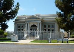 The Baker Street Branch Library, part of the Kern County Library system, is among the Bakersfield structures listed on the NRHP.